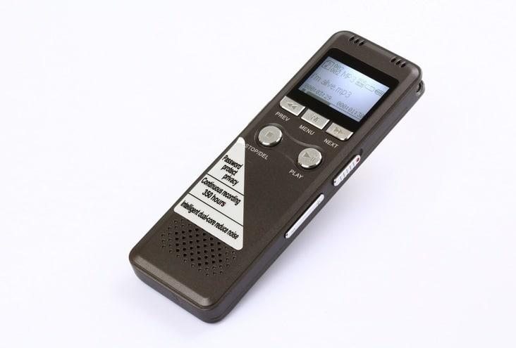 Máy ghi âm chuyên nghiệp GH-700 pin khủng