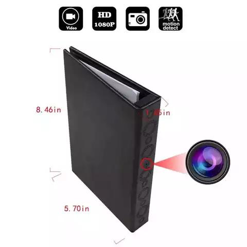 Camera ngụy trang sổ kẹp tài liệu hồng ngoại