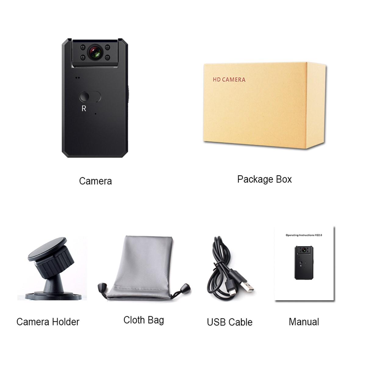 Camera Mini Q14 hồng ngoại điều khiển từ xa
