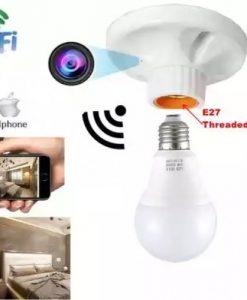Camera quay lén ngụy trang đui bóng đèn điều khiển từ xa