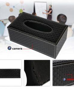 Camera ngụy trang hộp giấy ăn
