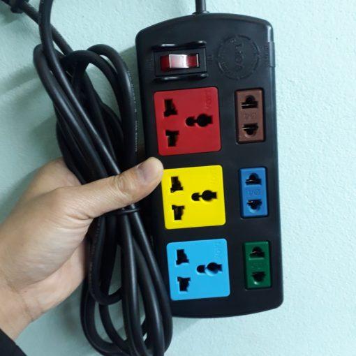 Máy nghe lén ngụy trang ổ cắm điện LIOA