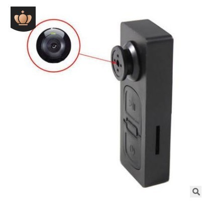 Camera quay lén ngụy trang cúc áo S918
