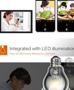 Camera bóng đèn BD626 IP Wifi lắp trong nhà