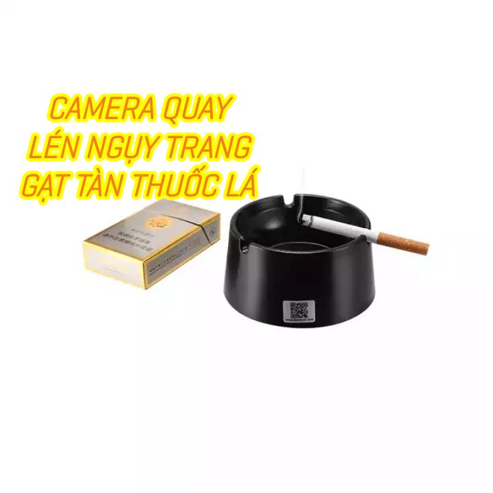 Camera ngụy trang gạt tàn siêu bí mật